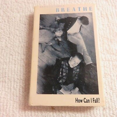 Breathe - How Can I Fall? - Cassette Tape Single - 1987 Siren Records         #Z