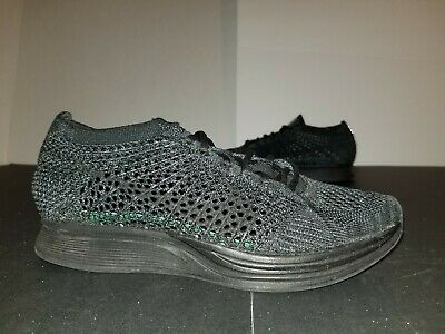 sneakers for cheap b32a5 6e19e 2017 Nike Flyknit Racer Triple Black Out Size 5 526628-009 CRAZY QUALITY!