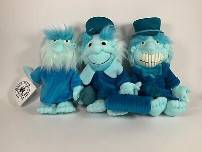 Disney Parks Exclusive Haunted Mansion Hitchhiking Ghost Plush Set - NWT