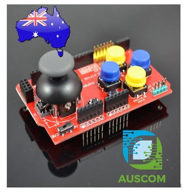 Gamepad JoyStick Keypad Buttons Shield PS2 Arduino Uno I2C