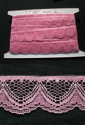Flat Lace Dusty Pink 20 metres  (251)