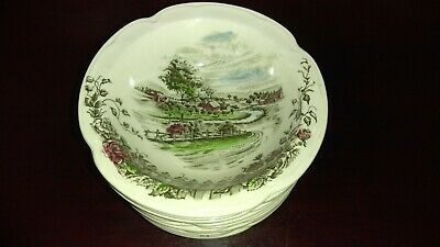 - Johnson Brothers THE ROAD HOME Bread Plates -