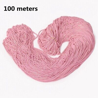 7colors 100meters Pink Color Brass Open Link Metal Chains DIY Jewelry Findings