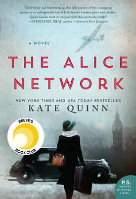 NEW The Alice Network By Kate Quinn Paperback Free Shipping