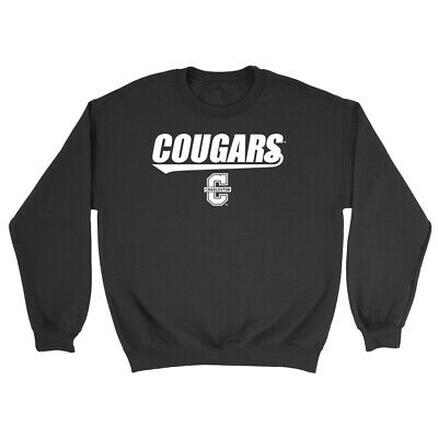Official NCAA College of Charleston Cougars 03CC-2 Mens//Womens Boyfriend Sweatshirt