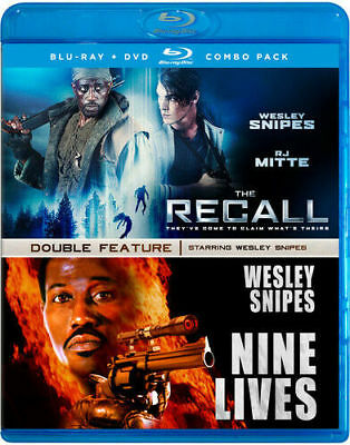 Wesley Snipes Double Feature (Blu-ray) LN DISC + COVER ARTWORK - NO CASE / DVD
