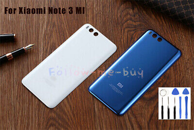 For Xiaomi Mi MI Note3 Original Replacement Metal Battery Back Cover Case+Tool