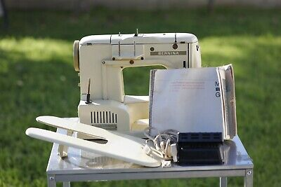 Bernina 730 Record Sewing Machine w/ Pedal and Accessories