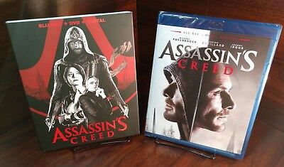 Assassin's Creed (Bluray/DVD+Digital)Special Collector Slipcover-NEW-Free S&H