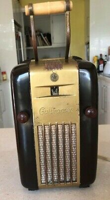 Vintage Gulbransen 'fridge' tube radio