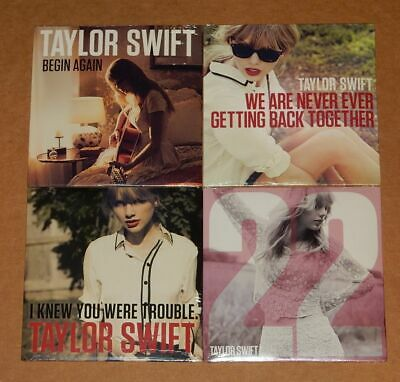TAYLOR SWIFT WE Are Never Ever Getting Back Together CD