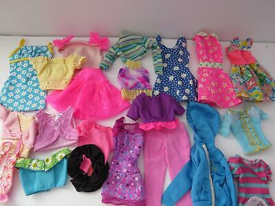 Large Lot Of Genuine Barbie Clothes Very Good To Excellent Condition