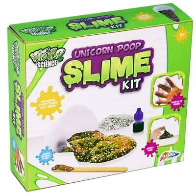 Weird Science Make Your Own Yellow Unicorn Poop Slime