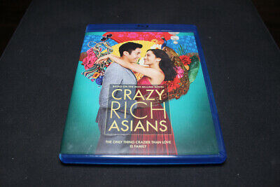 Crazy Rich Asians Blu-Ray DVD Digital 2018 - FREE SHIP