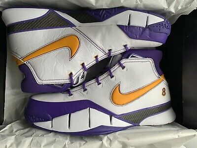 5a4549d7e63 Brand New Nike Kobe 1 Protro Close Out Lakers Del Sol Size 13. AQ2728-