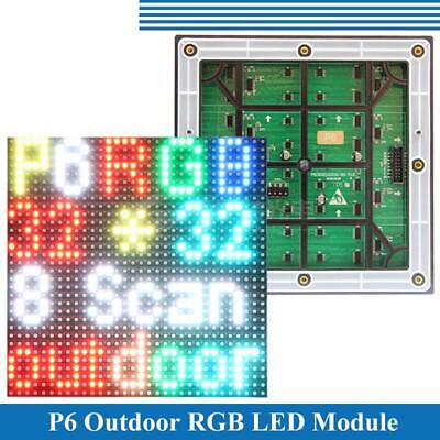 P6 Led Module Display Panel 3528SMD 3in1 Outdoor HD 32x32 Pixels RGB Full Color
