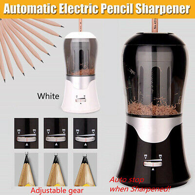 1x TIHOO 3 Gear  6.5-11mm Automatic Electric Pencil Sharpener Student Office AU