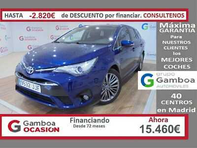 Toyota Avensis TS 150D Executive y Extracare 3+2 Navegador Plus