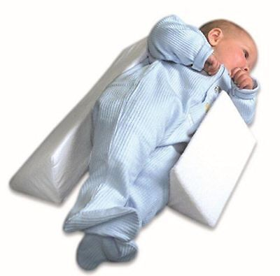 Newborn Infant Anti-Roll Sleep Pillow Support Wedge Adjustable Width Cushion DD