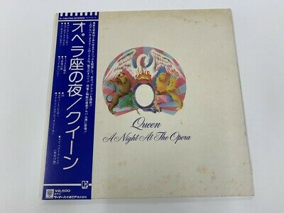 Queen   A Night At The Opera '75 LP JAPAN ORG!! come with insert & OBI