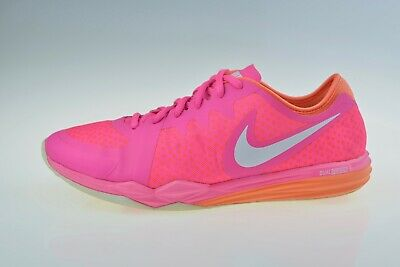 best cheap ca4c6 10481 Nike Dual Fusion TR 3 Print 704941-601 Women s Running Trainers Size UK 5