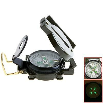 Lensatic Compass Military Camping Hiking Army Style Survival Marching MG