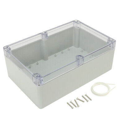 231mmx210mmx80mm ABS Plastic Electronic Project Junction Box Enclosure Case