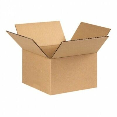 "Cardboard Postage Boxes Single Wall Postal Mailing Small Parcel Box 7"" x 7"" x 5"""