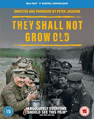 They Shall Not Grow Old (UK IMPORT) BLU-RAY NEW