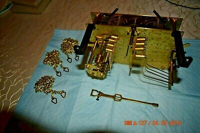 Kieninger chain driven westminister chime grandfather clock movement set of 1