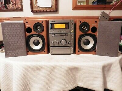 Sony CMT-CP505MD Micro HIFI System MDLP Type S MD Minidisc CD TAPE, RADIO AUX