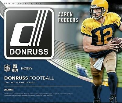 2018 Donruss Football - RATED ROOKIES - Pick Your Card - Complete Your Set - RC