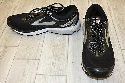 ff8bd4fe54031 BROOKS GHOST 10 Running Shoes - Men s Size 13 D - Black Silver ...