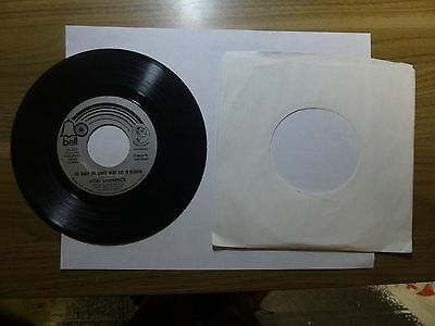 Old 45 RPM Record - Bell 45,303 Vicki Lawrence Night The Lights Went Out Georgia