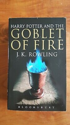 harry potter and the goblet of fire first edition uk adult paperback
