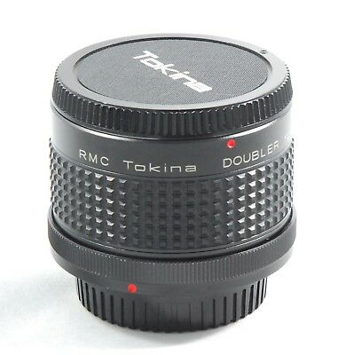 RMC Tokina Doubler for Canon FD w/ Caps