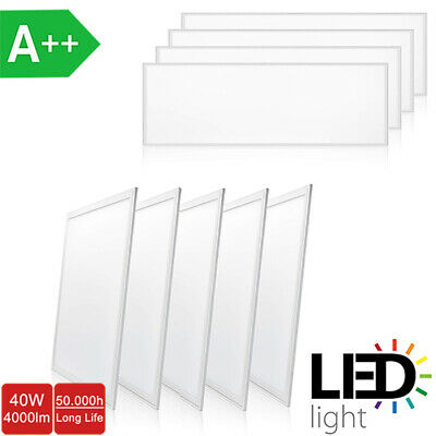 Ultraslim LED Panel A++ 40W 60W Warmweiß 3000K Neutralweiß 4000K Kaltweiß 6000K
