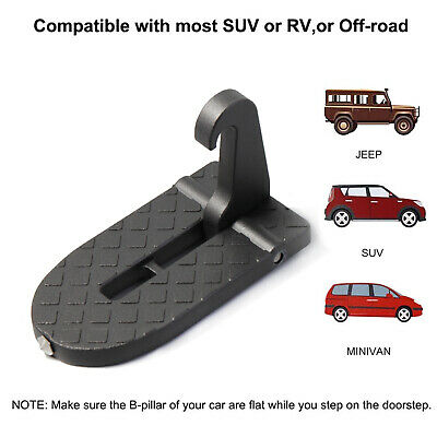 SUV Off-road Car Doorstep Roof Ladder Foot Stand Door Latch Step Rooftop Pedal