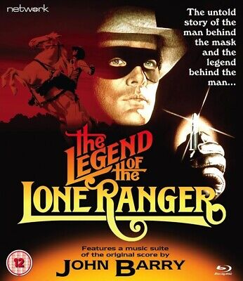 The Legend Of The Lone Ranger Blu-Ray (1980)