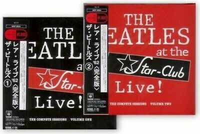 THE BEATLES LIVE AT THE STAR CLUB  2CD MINI LP/OBI (brand new)