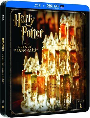 Harry Potter Prince Sang Mele Steelbook  Blu Ray Neuf Sous Cellophane