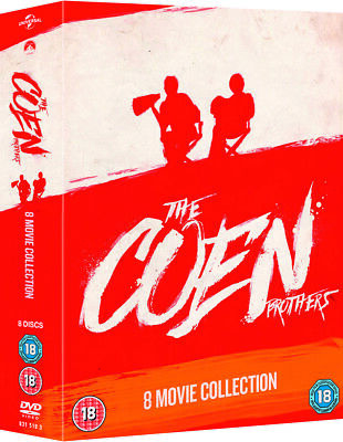 The Coen Brothers - (8 Films) Directors Collection DVD