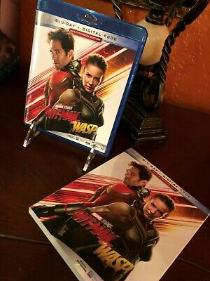 ANT-MAN AND THE WASP Paul Rudd Blu-ray with Slipcover