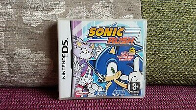 Sonic Rush (Nintendo DS) Case only