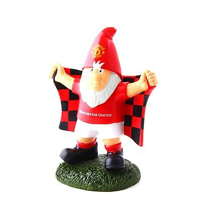 Manchester United FC Official Champ Football Crest Garden Gnome (SG8111)