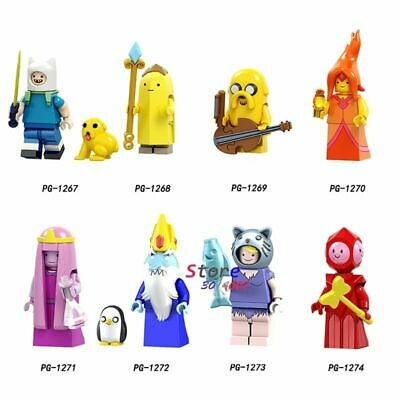 Lego Adventure Time Minifigures Finn JakeFlame Princess Minifigure Series Figure
