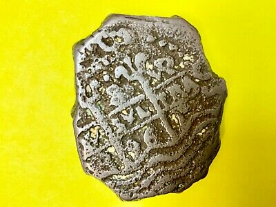 Original Reales  Spanish Colonial Silver 1600'S Coin