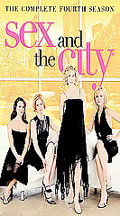 Sex and the City: The Complete Fourth Season (VHS, 2003, 4-Tape Set, Four Casset
