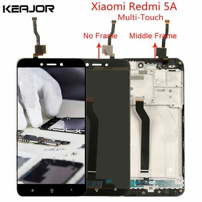 For Xiaomi Redmi 5A LCD Display Touch Screen Digitizer Assembly with Frame AAA+