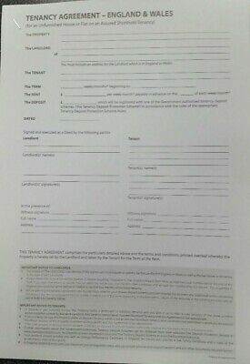 Un Furnished Tenancy Agreement Download
